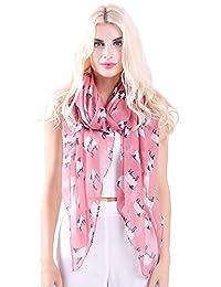 MissShorthair Women's Scarves Fashion Cute Sheep Infinity Pattern Scarves Shawl Wraps