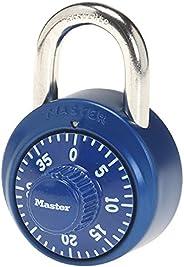 Master Lock Padlock, Standard Dial Combination Lock, 1-7/8 in. Wide, Assorted Colors, 1530DCM