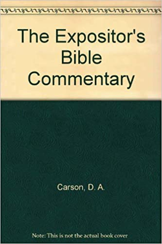 Expositors Bible Commentary Pdf