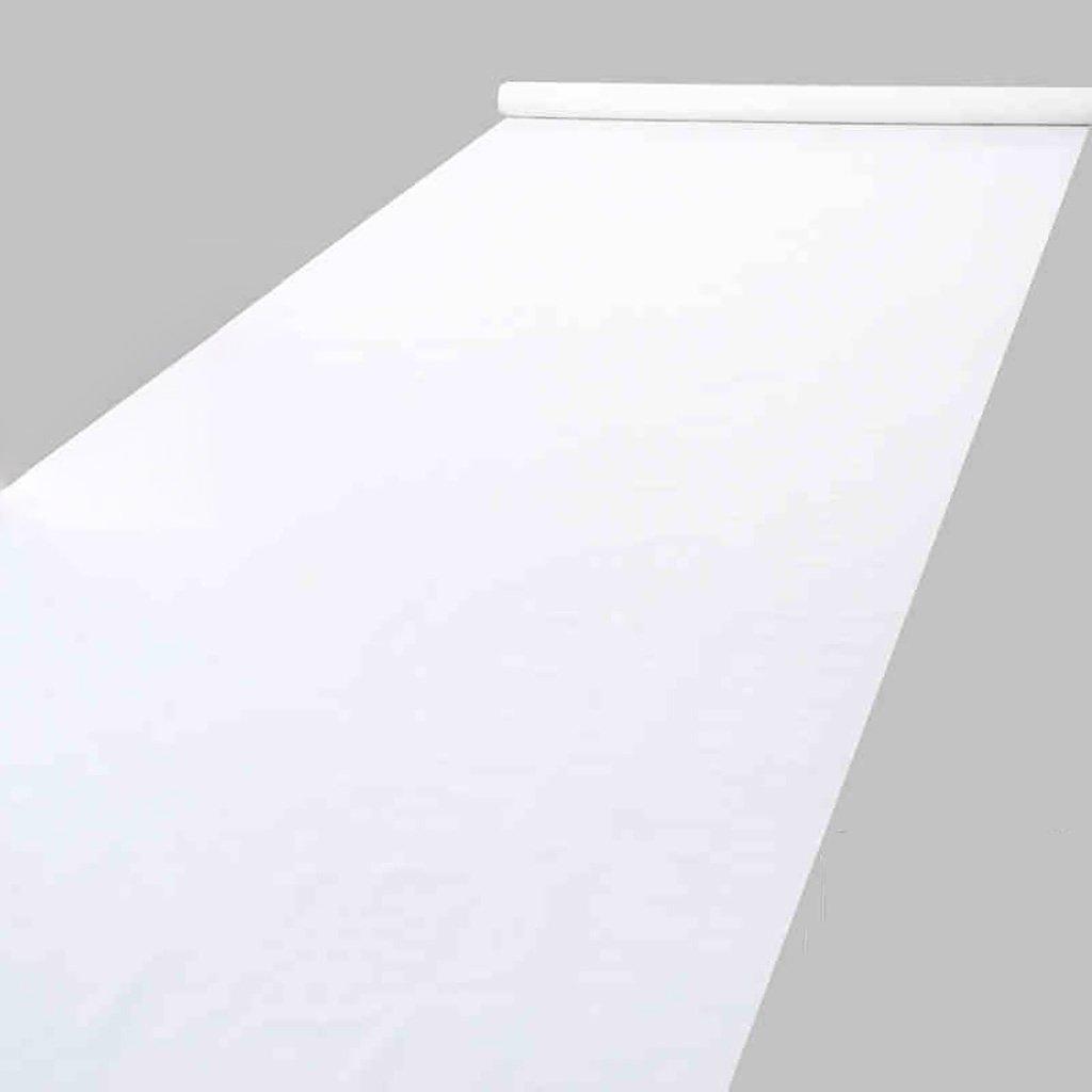 WENZHE-Bereich Teppiche Teppich Einweg Hochzeitsteppich Event Teppich Vliesstoffe Das Hintergrundtuch Stützen Hochzeit Weiß Dick 0,5mm, Breite 1,5m, Lange 20   50m ( größe   120m )