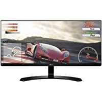 2018 Newest Flagship LG 34 IPS WFHD (2560 x 1080) Ultrawide 21:9 Freesync LED Gaming Monitor: Game/Reader/Cinema/Photo Mode, Anti-Glare, 75Hz, 5ms, OnScreen Control, HDMI, Display Port, Wall Mount