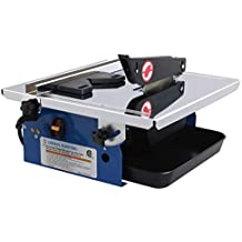 Leegol 7-Inch Wet Tile Saw - Portable Wet Cutting Porcelain Tile Cutter Table Saw with Water System
