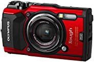 Olympus 12 tg-5 impermeable con 7,6?cm LCD, Rojo
