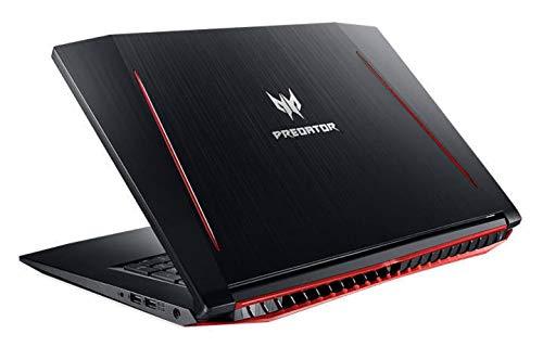 """Acer Predator Helios 300 Gaming Laptop: Core i7-7700HQ, GeForce GTX 1060 6GB, 17.3"""" Full HD, 16GB DDR4, 256GB SSD + 1TB HDD, Backlit Keyboard, VR Ready (Renewed)"""