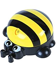 UPKOCH Kitchen Timer Magnetic Countdown Timer Manual Bee Shape Cooking Sports Beauty Study Reminder Household (Yellow)