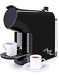 Caffé Brio, Nespresso OriginalLine Capsule Compatible Espresso Maker Machine, STX International Model STX-6000-CB with VTC Dispensing, Auto-Eject Capsule Design, 30 second Brew Time & Eco-Energy Mode