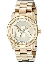 Michael Kors Women's Runway Gold-Tone Watch MK5786