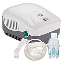 Cool Mist Inhaler Compressor - Reusable & Disposable Kit - Five Year Warranty