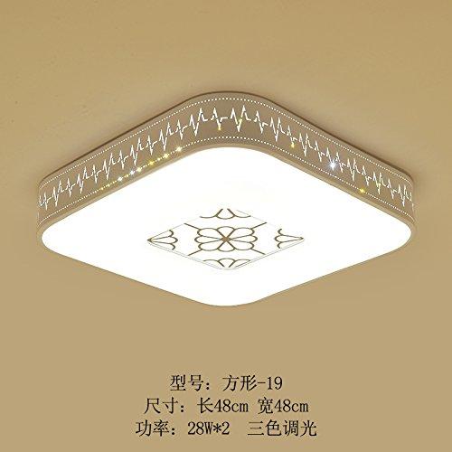 Plafonnier LED ronde 19)