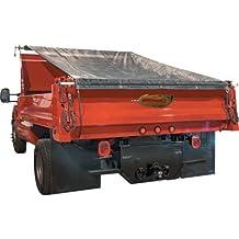 TruckStar Dump Tarp Roller Kit - 7ft. x 18ft. Mesh Tarp, Model# DTR7018