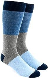 Best Buy The Tie Bar Colorblock Men Cotton Blend Dress Socks