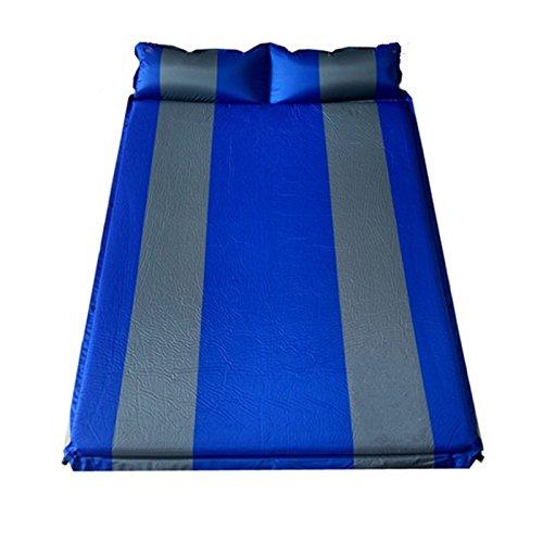 YOPEEN Automatisches aufblasbares Kissen im Freien Zelt der Outdoor-Feld-Doppelmatratze der Zeltmatten-Matratze im Freien Verdickte Matte, 132X192CM