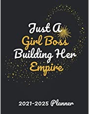 Just A Girl Boss Building Her Empire 2021-2025 Planner: 60 Months Yearly Planner Monthly Calendar, Agenda Schedule Organizer and Appointment Notebook with Federal Holidays | Planner (2021-2025 Monthly Calendar Book)