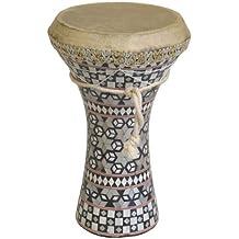 """Mid-East Medium Pretuned Mosaic Wooden Doumbek 7.5""""x12"""""""