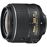 Nikon AF-S DX NIKKOR 18-55mm f/3.5-5.6G Vibration Reduction II Zoom Lens with Auto Focus for Nikon DSLR Cameras