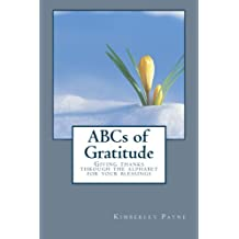 ABCs of Gratitude: Giving thanks through the alphabet for your blessings
