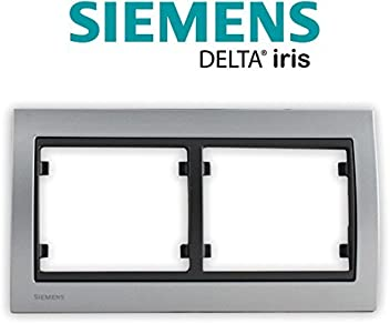 SIEMENS Ingenuity for life Marco Doble Vertical Antracita