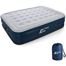 Premium Queen Size Air Mattress Inflatable Air Bed with Electric Built-in Pump