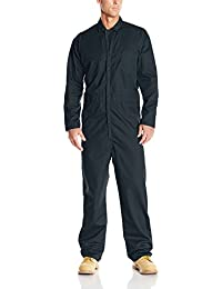 Men's Twill Action Back Coverall