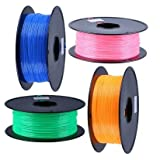 PETG filament, 1.75mm or 3.00mm diameter -1200 Pieces