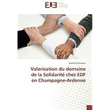 Valorisation du domaine de la Solidarité chez EDF en Champagne-Ardenne