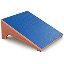 "3B Scientific Eucalyptus Wood Slant Board for Controlled Stretching, 15"" Length x 14"" Width x 6-1/2"" Height"