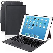 [iPad 10.2/10.5通用]Ewin® 新型 iPad キーボード ケース タッチパ...