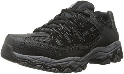 Skechers for Work 77055 Cankton Athletic Steel Toe paintings sneaker