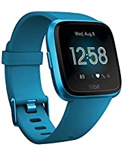Fitbit Versa Lite Health & Fitness Watch with Heart Rate, Connected GPS & Water Resistance - Marina Blue