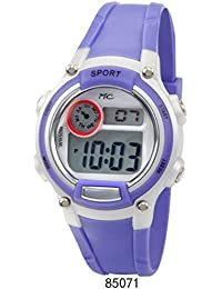 Lavender Digital 50 Meter LCD Watch