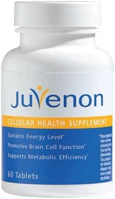 Juvenon Anti-Aging Tablets (60 Tablets) - Anti-Aging Pills for Energy, Focus and Brain Function that also help regulate Healthy Weight, Heart and Joints