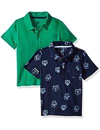 830dcc049 Amazon Brand - Spotted Zebra Boys' Toddler & Kids 2-Pack Slub Jersey Short