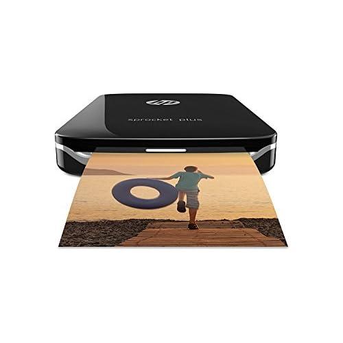 chollos oferta descuentos barato HP 200874 Sprocket Plus Impresora fotográfica portátil tecnología de impresión Zink Bluetooth fotos 5 8