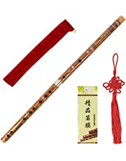 Kmise Pluggable Chinese Transverse Bitter Bamboo Flute Dizi Traditional Handmade Bamboo Flute Dizi