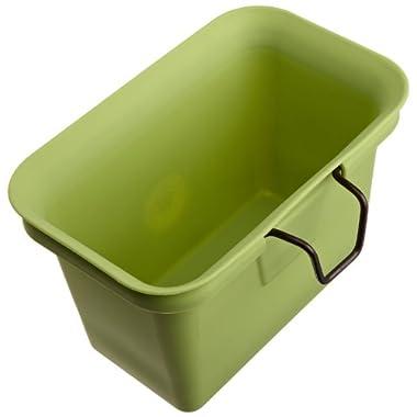Full Circle Scrap Happy Scrap Collector and Freezer Compost Bin, Green