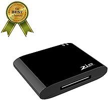 bluetooth 4.1 a2dp audio bose sounddock récepteur bluetooth adaptateur pour iphone et ipod 30pin orateur, ne convient pas pour audi (noir)