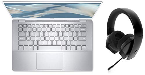 Dell Inspiron 7490 14-inch FHD Display Laptop Silver + Alienware Stereo Gaming Headset