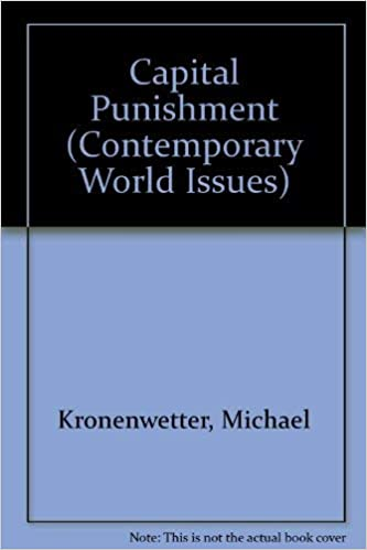 Capital punishment : a reference handbook, Michael Kronenwetter