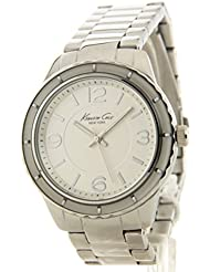 Kenneth Cole New York KC4887 3-Hand Silver Tone Womens Bracelet Watch