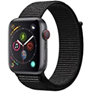 Apple Watch Series 4 (GPS + Cellular, 44mm) - Space Gray Aluminium Case with Black Sport Loop
