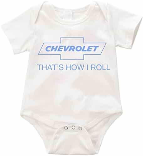 fffa074cf Official LPM Chevrolet thats how i roll Unisex Romper Creeper onesie