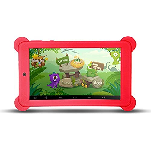 KOCASO 7 Inch Quad Core [Android 4.4 KitKat] Kid's HD Tablet PC- 8GB Storage W/ 32 Expandable Memory, Micro USB/SD Card Slot, 1024x600 Coupons
