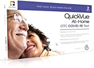 Quidel QuickVue at-Home OTC COVID-19 Test Kit - Nasal Swab 10 Minute Rapid Results
