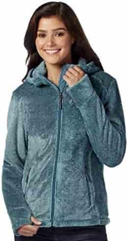 5c4b2f949a6 Free Country Women s Plus Size Elegance Heather Butter Pile Fleece Jacket