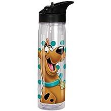 Spoontiques Scooby Doo Flip Top Bottle, Clear