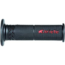 Ariete handlebar grip Perforated (bar end cap is required) Red / Black 120mm ESTORIL 02615-R
