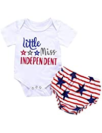 01add6e8ecb4 Baby Boys and Girls Letter Star Romper Jumpsuit Outfit Set Clothes