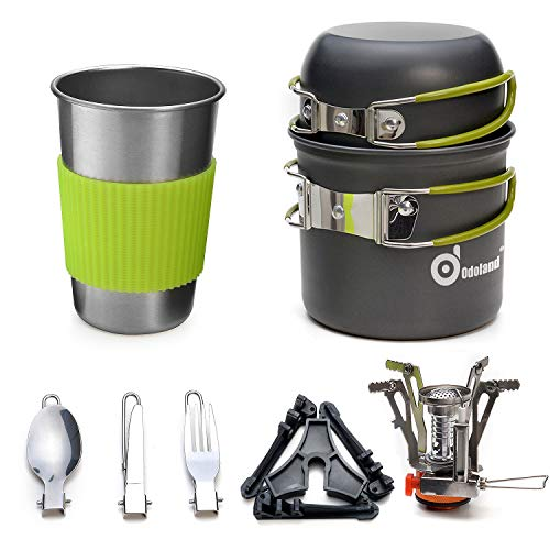 Odoland Camping Cookware Stove