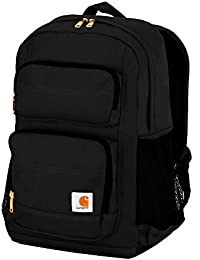 Legacy Standard Work Backpack with Padded Laptop Sleeve and Tablet Storage, Black