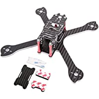 iFlight RACER iX5S 200mm FPV Racing Quadcopter Frame Kit Enhanced Version Composite Materials + Carbon Protection Board for Lipo 3s 4s 5s